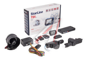 Сигнализация с автозапуском STAR LINE 24Vnew STAR LINE T94 24V, STAR LINE T94