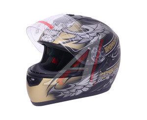 Шлем мото (интеграл) MICHIRU (с солнцезащитным стеклом) MI 166 Тип 17 M, 4627072925527