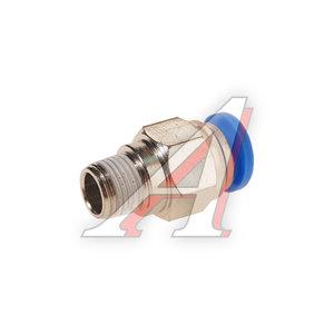 """Фитинг для пластиковых трубок 1/8"""" 8мм с наружной резьбой ROCK FORCE RF-SPC08-01"""