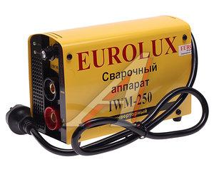 Аппарат сварочный 7.7кВт 10-250А d=1.6-6.0 инвертор EUROLUX IWM250, 65/29