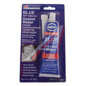 Герметик синий силиконовый 85г ABRO ABRO 10-AB-CH-R, 10-AB-CH-R