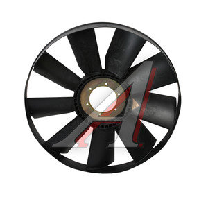 Вентилятор КАМАЗ-ЕВРО 704мм с обечайкой и плоским диском в сборе (дв.740.62) ТЕХНОТРОН 21-162
