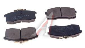 Колодки тормозные ВАЗ-1111 передние (4шт.) PILENGA 1111-3501090, FD-P 2011, 1111-3501080