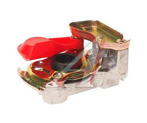 Головка соединительная тормозной системы прицепа 16мм (грузовой автомобиль) красная без клапана EBS 90021005, 06586, 9522000210