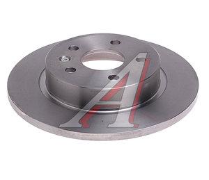 Диск тормозной CHEVROLET Cruze OPEL Astra J (R15) задний (1шт.) BREMBO 08.B357.10, DF6340, 13502136
