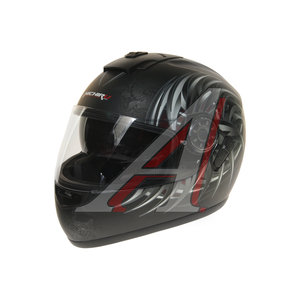 Шлем мото (интеграл) MICHIRUYakuza (с солнцезащитным стеклом) MI 166 M, 4627072925473