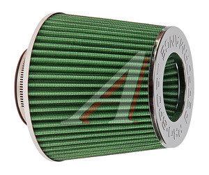Фильтр воздушный PRO SPORT MEGA FLOW зеленый хром d=70 RS-03565