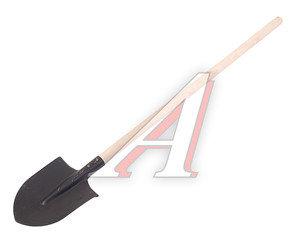 Лопата штыковая с деревянным черенком ЛКО-3 131377, сборка