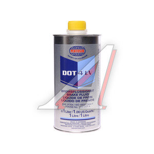 Жидкость тормозная DOT-4 1л LV PENTOSIN PENTOSIN, 7486