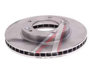 Диск тормозной KIA Sorento (02-) передний (1шт.) BREMBO 09.9545.10, DF4395S, 51712-3E000