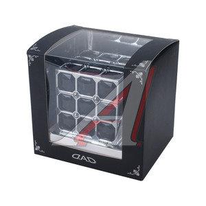 Ароматизатор на панель приборов жидкостный (одеколон) фигура Куб D.A.D AH07COL