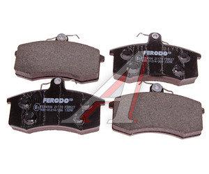 Колодки тормозные ВАЗ-2108 передние (4шт.) FERODO PREMIER FDB527, 2108-3501080