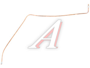Трубка тормозная УРАЛ к клапану обрыва в сборе L=1650мм/d=10мм медь (ОАО АЗ УРАЛ) 4320-3506170