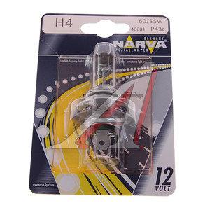 Лампа H4 12V 60/55W P43t-38 блистер NARVA 48881B1, N-48881бл