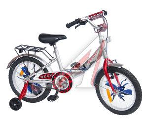 """Велосипед 16"""" 1-ск. (4-6 лет) (AL-рама) серый металлик TRANSFORMERS TOTEM JKS1503-16"""