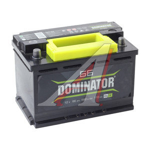 Аккумулятор DOMINATOR 66А/ч 6СТ66з, 83206
