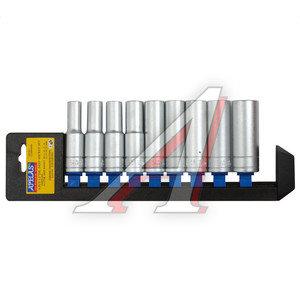 """Набор головок торцевых 1/2""""10-22мм глубоких 9 предметов APELAS CS-4009DPHD,"""