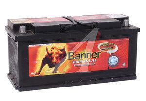 Аккумулятор BANNER Running Bull 105А/ч обратная полярность AGM 6СТ105 605 01, 605 01