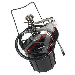 Нагнетатель смазки ножной (портативная смазочная система) с пистолетом, емкостью 5л, 1.25г/ход PROLU PROLUBE PL-44253, PL-44253
