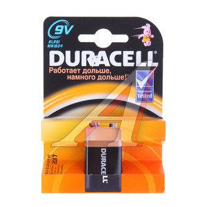 Батарейка KRONA 6LR61 9V Alkaline блистер (1шт.) DURACELL D-6LR61бл