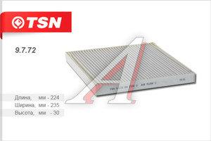 Фильтр воздушный салона HONDA Accord 9 (08-),8 (03-) TSN 9.7.72, LA216, 80290-SDA-A01/80290-SEC-A01/80292-SDA-A01/80292-SD