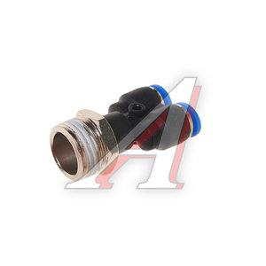 """Фитинг для пластиковых трубок 1/2"""" Y-образный 8мм с наружной резьбой ROCK FORCE RF-SPX08-04"""