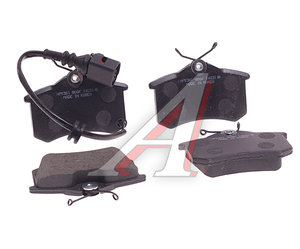 Колодки тормозные VW Polo SEAT Ibiza задние (4шт.) HSB HP9361, GDB1475, 6Q0698451B
