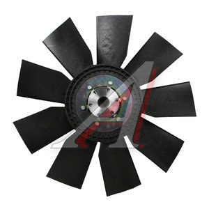 Вентилятор ЯМЗ-7511.10,658.10 (серия 710, крыл. 660мм) с вязкостной муфтой в сборе ТЕХНОТРОН 020003896, 21-359-080