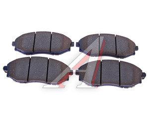 Колодки тормозные CHEVROLET Epica (07-) (2.0/2.5) передние (4шт.) OE 96475026