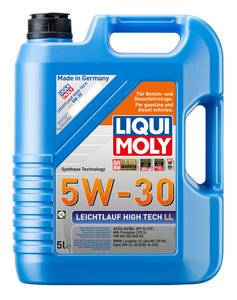 Масло моторное LONGTIME HIGH TECH синт.5л LIQUI MOLY LM SAE5W30 7564, 84151