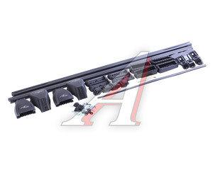 """Багажник KIA Rio 3 седан (11-) прямоугольный, сталь комплект L=1200см """"LUX"""" 694425 LUX седан, 694425"""