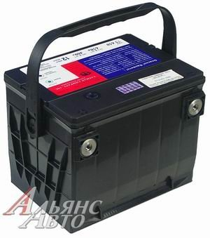 Аккумулятор AMERICAN 95А/ч боковые клеммы 6СТ95 78 730, 82210