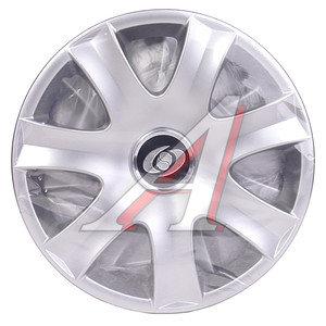 Колпак колеса R-14 декоративный серый комплект 4шт. 223 223 R-14