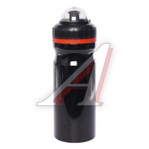 Фляга велосипедная 680мл алюминиевая черная CB-1562 *LU046160*, 550037