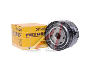 Фильтр масляный FIAT Ducato (02-) (2.3 JTD) FILTRON OP592/8, OC570, 8094872/2995811