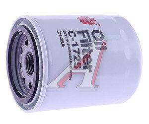 Фильтр масляный KOMATSU FD15T (дв.YANMAR) SAKURA C1725, W87, 11900535100, Y11900535100, 1627132091
