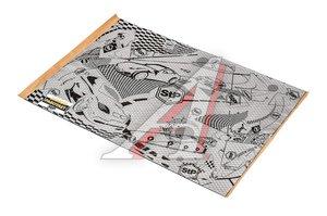 Вибропласт Silver лист (0.47м х 0.75м) толщина 2.0мм STP StP