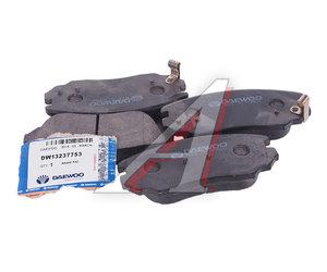 Колодки тормозные CHEVROLET Malibu (12-) OPEL Insignia (08-) передние (4шт.) (уценка) DAEWOO 13237753