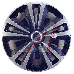 Колпак колеса R-15 черный/хром микс комплект 4шт. ТЕРРА МИКС ТЕРРА МИКС чер R-15