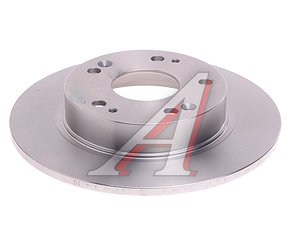 Диск тормозной HONDA Civic 4D,5D (06-12) задний (1шт.) BREMBO 08.A147.10, DF4837, 42510-SMG-E20