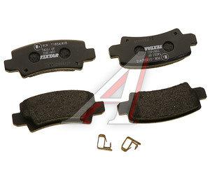 Колодки тормозные TOYOTA Corolla (02-) задние (4шт.) TEXTAR 2381601, GDB3289, 04466-02160/04466-02070/04466-02020