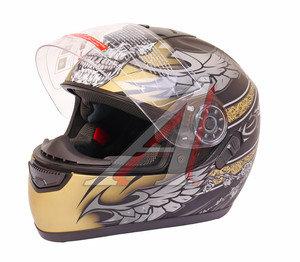 Шлем мото (интеграл) MICHIRU (с солнцезащитным стеклом) MI 166 Тип 16 L, 4627072925480