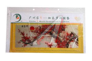 Коврик на панель приборов универсальный противоскользящий 400х160 с рисунком цветущая сакура ART8202