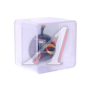 Ароматизатор на дефлектор пластик-пропитка (черный бриллиант) фигура Птица черная Angry Birds 3D PRI 073029, AB029