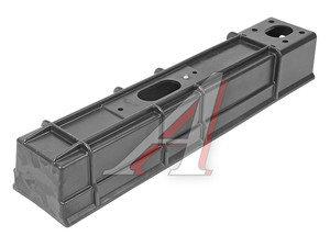 Бампер ГАЗ-3302 задний (брус противоподкатный) пластик (ОАО ГАЗ) 3302-2815012-01, 3302-2815012