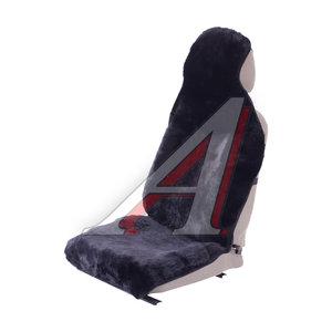 Накидка на сиденье мех натуральный (овчина) черная 2шт. Contur PSV 125520, 125520 PSV