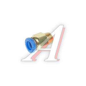 Соединитель трубки ПВХ,полиамид d=8мм (наружная резьба) М12х1.5 прямой PC M12x1.5 d=8