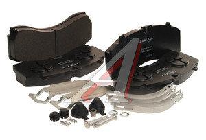 Колодки тормозные MERCEDES Actros MP3 (10-) передние (244.6х113.7х30/35) (4шт.) LUMAG 292460090100, 29246, 0064201420