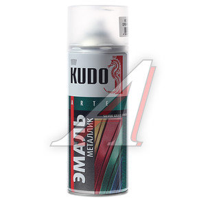 Краска серебристая кварц металлик аэрозоль 520мл KUDO KUDO KU-1059, KU-1059