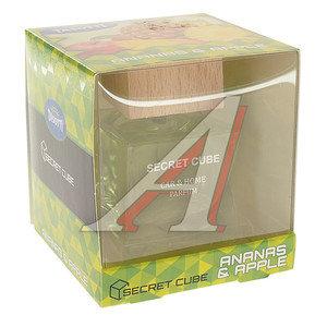 Ароматизатор на панель жидкостной (ананас, яблоко) 50мл Secret Cube TASOTTI 301, TASOTTI Secret Cube/ananas apple
